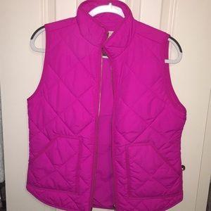 J Crew Hot Pink Vest